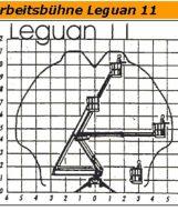 Gelenkarbeitsbühne Leguan 11